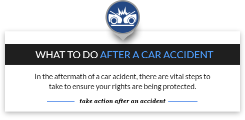 take action after an accident