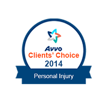 Avvo Client's Choice 2014 Personal Injury